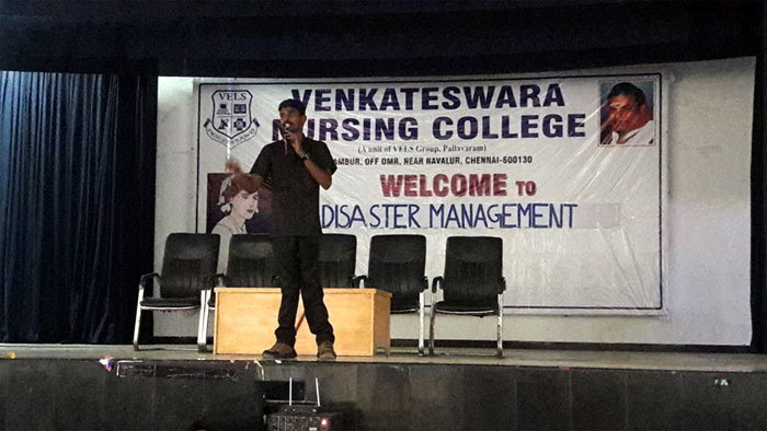One Day Disaster Management Training Workshop,  on 21 Apr 2017